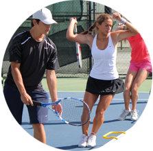 Уроки боьшого тенниса для взрослых