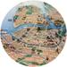 Карта кортов теннисного клуба Слайс в Санкт-Петербурге