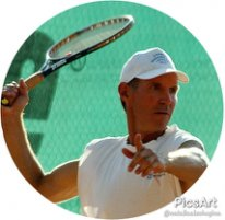 тренер по теннису Алексей Карпенко