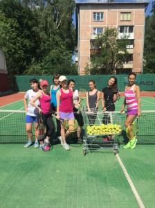 большой теннис для взрослых лето