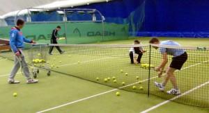 Тренировка большой теннис