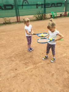 Летние занятия теннисом для детей